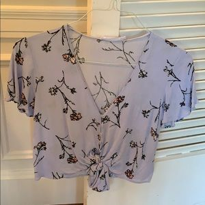 Floral top from Nordstrom